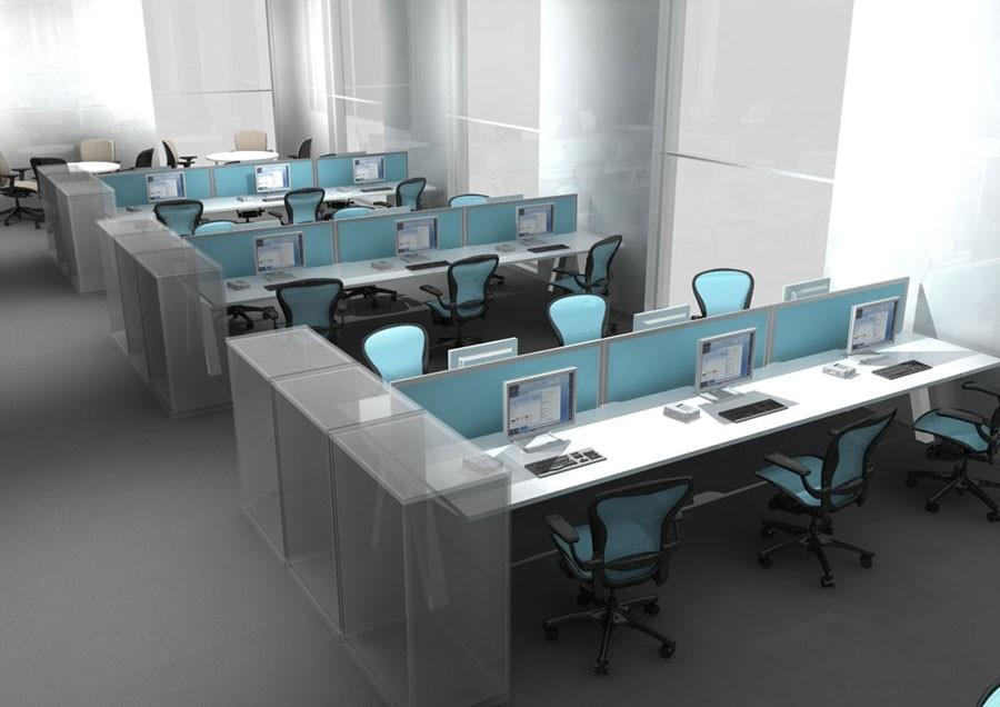 Modular Workstation Design LW 6 Home Office Furniture Manufacturer .
